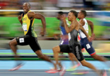 photo usain bolt jo sourire