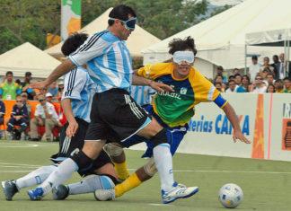 cecifoot football aveugle