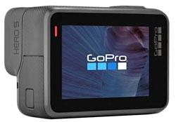 GoPro Hero5 Black ecran tactile