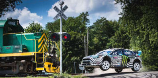 photo Ken Block Gymkhana 9 Raw Industrial Playground video hd Ford Focus RS RX