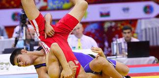 lutte championnat du monde junior
