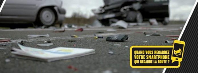 smartphone volant securite routiere