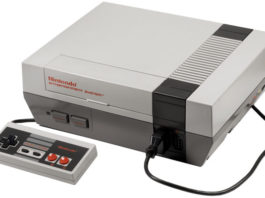 photo Nintendo NES 1985