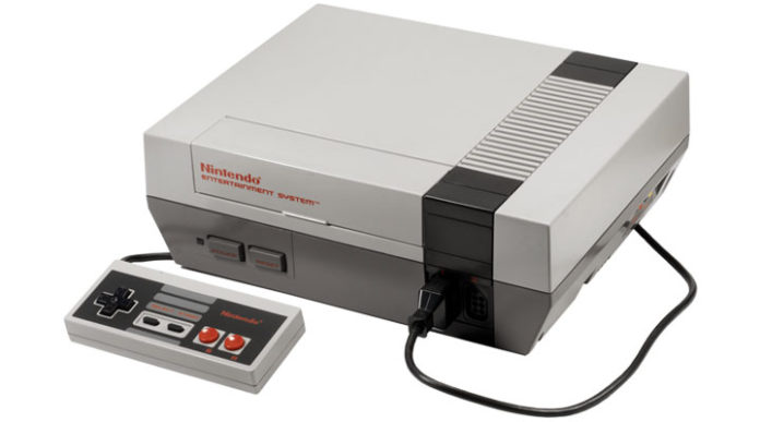 photo Nintendo NES 1985