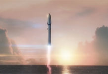 fusee SpaceX Big Fucking Rocket