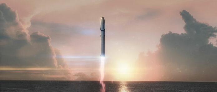 fusee SpaceX Big Fucking Rocket
