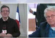 Jean-Luc Mélenchon et Daniel Cohn-Bendit