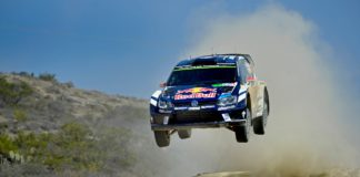 VW Polo R WRC saut jump photo video best of