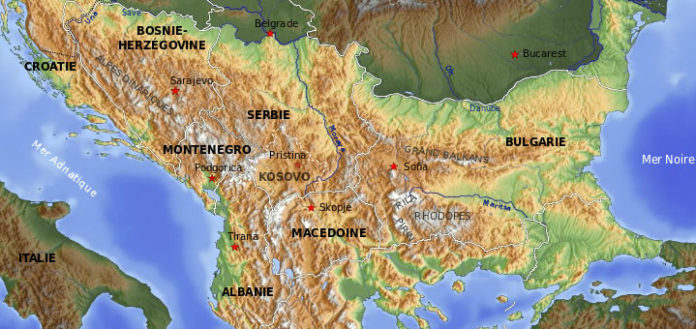 Carte Italie Balkans.Vendetta Et Meurtres Dans Les Balkans Blog Note