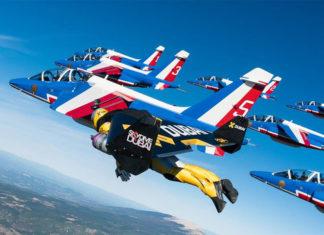 jetman armee air patrouille de france avion aile reaction