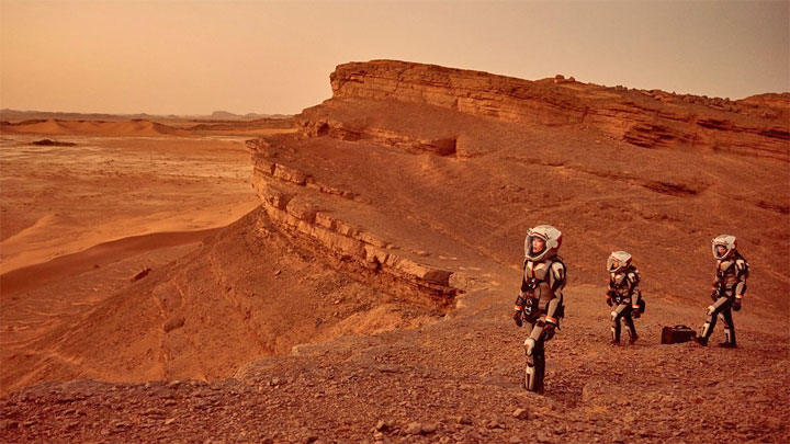Série TV de National Geographic : Mars