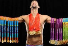 Michael Phelps medailles JO
