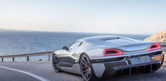 photo voiture Rimac Concept One