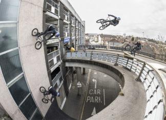 wall ride BMX de Sebastian Keep