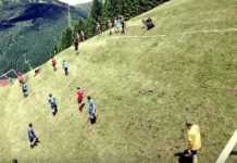 alpine football montagne