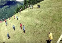 alpine football montagne
