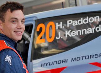 Paddon WRC Hyundai i20 rallye accident