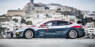 Tesla Model S racing course championnat electrique