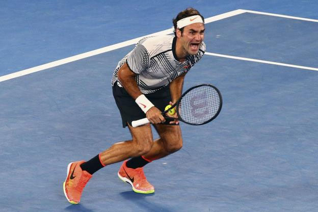 photo Roger Federer 2017 Open Australie
