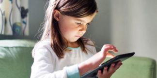 photo enfant smartphone