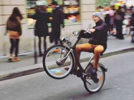velib wheeling