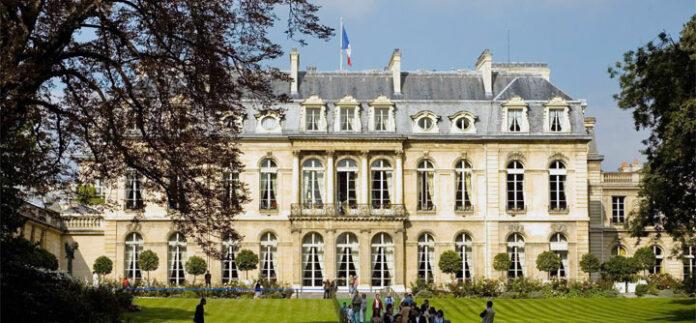 photo palais elysee parc