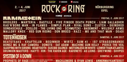 Rock am Ring 2017 RAR Rock im Park
