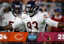 Chicago Bears vs Saint-Louis Cardinals