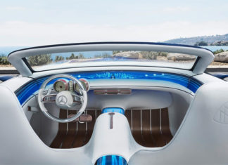 photo HD Mercedes Maybach Vision 6 Cabriolet