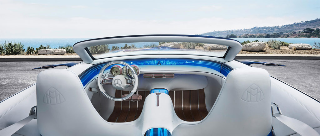 photo HD Mercedes Maybach Vision 6 Cabriolet
