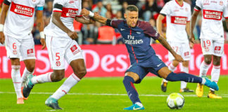 photo Neymar PSG foot but TFC Toulouse