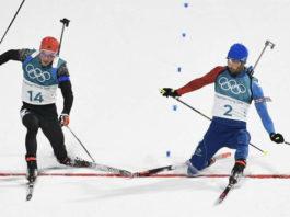 biathlon JO2018 Martin Fourcade