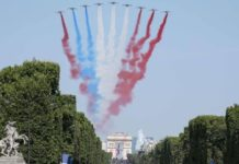 fail avion 14 juillet 2018