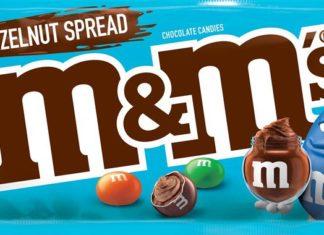 M&M's gout Nutella mms Ferrero