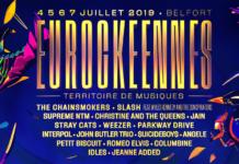 affiche programme officiel complet Eurockeennes 2019 Eurocks Belfort