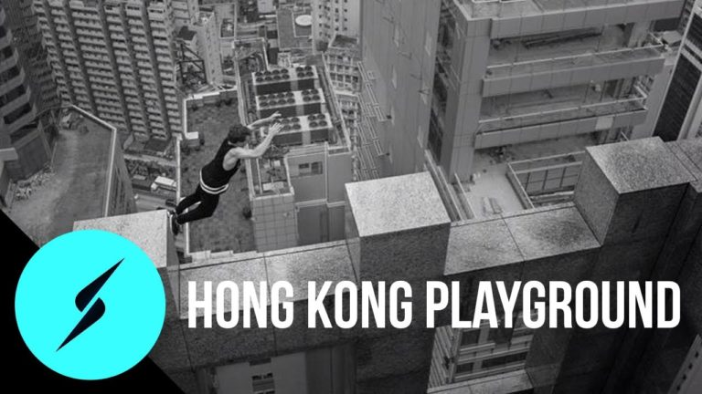 Parkour à Hong Kong