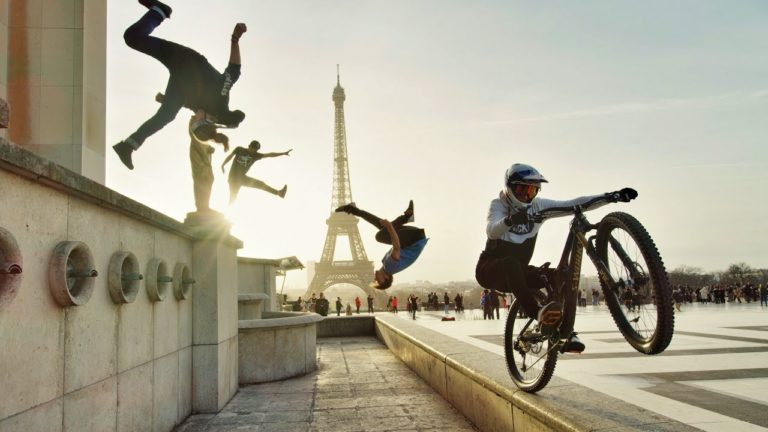 Bike vs Parkour, de Londres à Paris