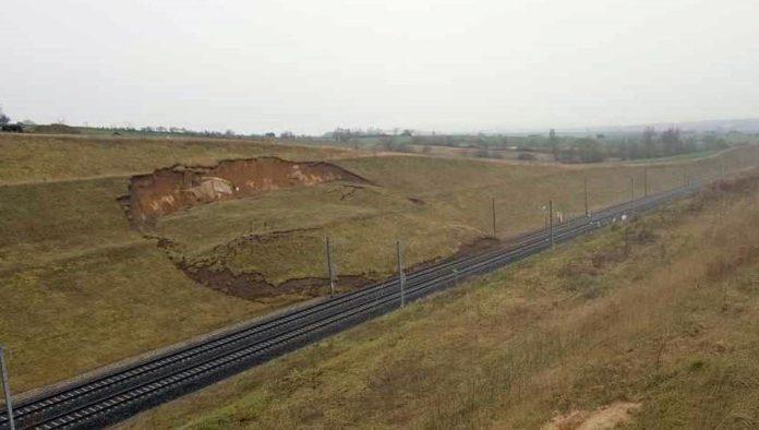 photo déraillement TGV SNCF 6 mars 2020