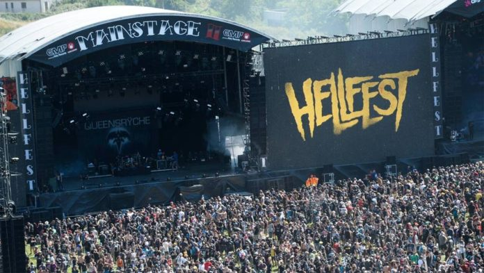 hellfest photo mainstage scene