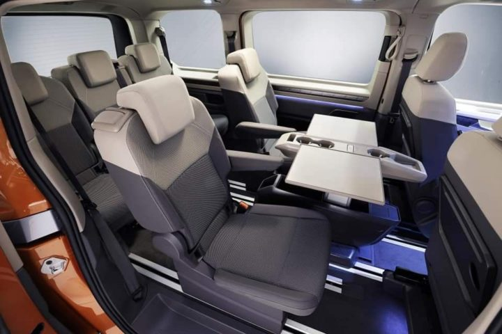 Volkswagen VW T7 Transporter California Combi Westfalia Multivan T7
